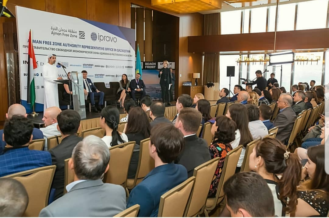 ajman-free-zone-met-businessmen-in-kazakhstan-to-introduce-the-advantages
